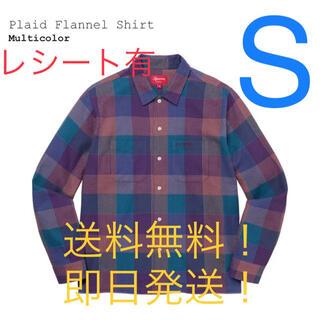 Supreme - 【新品タグ付】supreme Plaid Flannel Shirt マルチ S