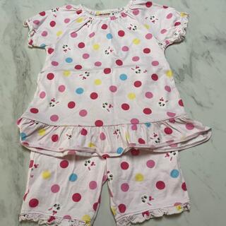 ミキハウス(mikihouse)のミキハウス パジャマ 80 半袖(パジャマ)