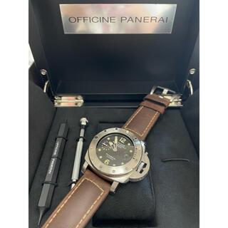 オフィチーネパネライ(OFFICINE PANERAI)の美品 パネライ サブマーシブル 1000m pam00243(腕時計(アナログ))