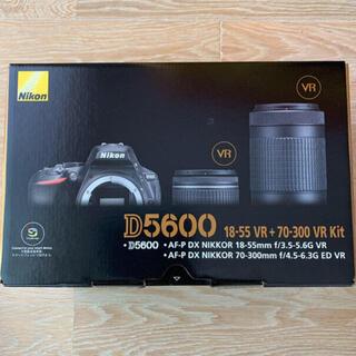 Nikon - 新品未使用 Nikon ニコン D5600 ダブルズームキット 3年保証付き