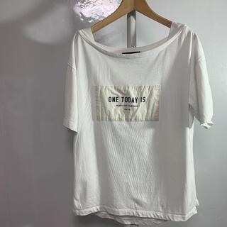 スコットクラブ(SCOT CLUB)のSCOT CLUB Tシャツ M-L ホワイト 品番442(Tシャツ(半袖/袖なし))