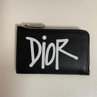 ディオール(Dior)のDIOR AND SHAWN コラボ カードケース・コインケース(コインケース/小銭入れ)