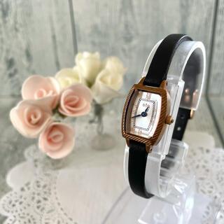 エテ(ete)の【動作OK】ete エテ 腕時計 トノー ピンクゴールド レディース(腕時計)