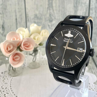 ヴィヴィアンウエストウッド(Vivienne Westwood)の【動作OK】vivienne ヴィヴィアン 腕時計 アーガイル  メンズ(腕時計(アナログ))