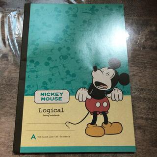 ミッキーマウス(ミッキーマウス)の【新品】ミッキーマウス B5ノート (ノート/メモ帳/ふせん)