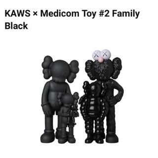 #2 KAWS FAMILY BLACK Kaws Tokyo First