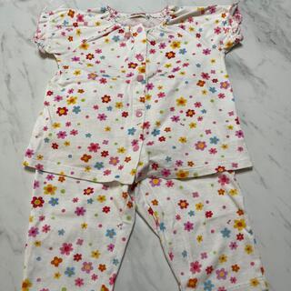 ミキハウス(mikihouse)のミキハウス パジャマ 半袖 80(パジャマ)