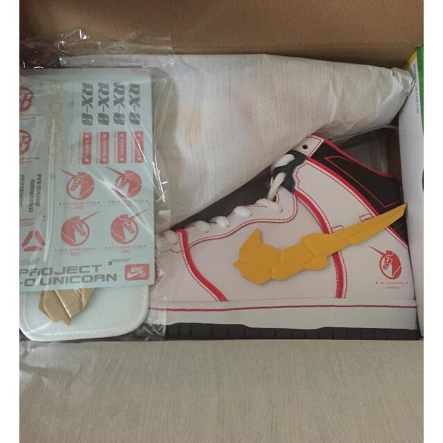 NIKE(ナイキ)のGUNDAM UNICORN  X Nike SB Dunk High 27.5 メンズの靴/シューズ(スニーカー)の商品写真