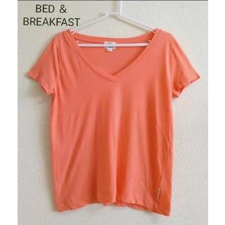 BED&BREAKFAST - 【美品】BED & BREAKFAST VネックTシャツ