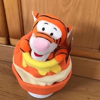 Disney - 新品 ディズニー ティガーのぬいぐるみ帽子 紙タグ付き