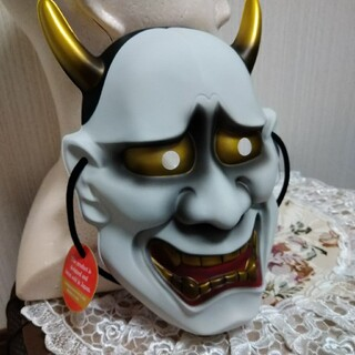 お面 お祭り 般若 舞踊 変装 縁日 工芸品(小道具)