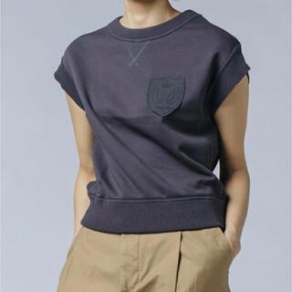 ダブルスタンダードクロージング(DOUBLE STANDARD CLOTHING)のダブスタ❣️完売❣️ DSC/ ヘビー裏毛トップス(カットソー(半袖/袖なし))
