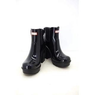ハンター(HUNTER)のHUNTER(ハンター) エナメルレインブーツ レディース シューズ(レインブーツ/長靴)