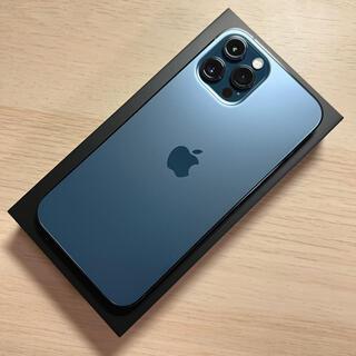 Apple - iPhone 12 Pro Max パシフィックブルー 256GB SIMフリー