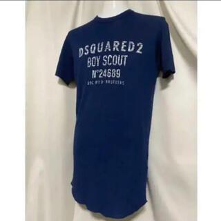 DSQUARED2 - Dsquared2 ディースクエアード イタリア製 2018SS ロゴTシャツ