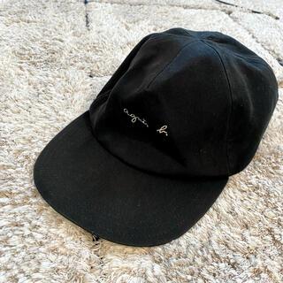 agnes b. - agnes.b アニエスベー キャップ 黒 希少フランス製