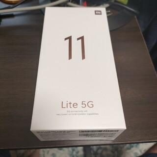 ANDROID - Xiaom Mi 11 Lite 5G シトラスイエロー  128GB ROM