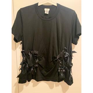 COMME des GARCONS - noir Kei Ninomiya☆今季 リボンTシャツ