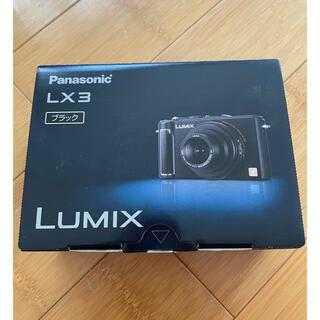 Panasonic - デジタルカメラ Panasonic DMC-LX3-K 箱入り