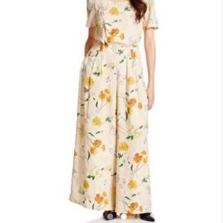 リリーブラウン(Lily Brown)のリリーブラウン 花柄 オールインワン ドレス(オールインワン)