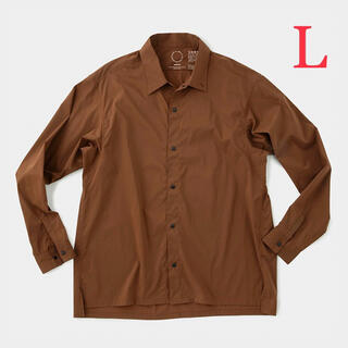patagonia - 新品 Lサイズ 山と道 UL shirt 長袖シャツ friar brown