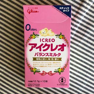 グリコ - アイクレオ 赤ちゃん粉ミルク 4箱セット
