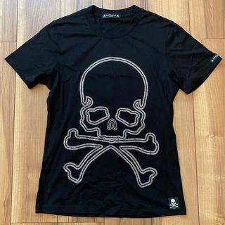 マスターマインドジャパン(mastermind JAPAN)のスワロフスキー Mロゴ スカル tシャツ 黒 サイズM(Tシャツ/カットソー(半袖/袖なし))