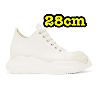 Rick Owens - rick owens adstract sneakers 28cm