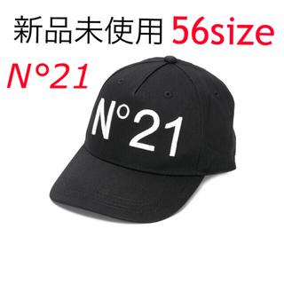ヌメロヴェントゥーノ(N°21)のN°21 ヌメロヴェントゥーノ  新作 キャップ ブラック 新品未使用(キャップ)