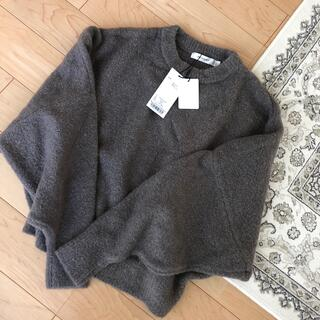 moussy - MOUSSY  WIDE SLEEVE KNIT トップス