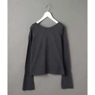 BEAUTY&YOUTH UNITED ARROWS - 6 ROKU☆バックオープンカットソー