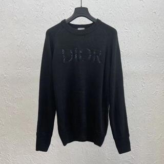 ディオール(Dior)のDIOR & PETER DOIG ウールジャージー セーター(ニット/セーター)