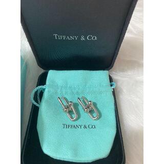Tiffany & Co. - Tiffany リンク ピアス 美品 ハードウェア