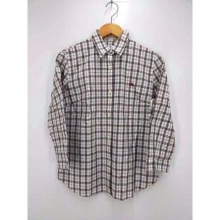 BURBERRYS(バーバリーズ) 白タグ ノバチェックシャツ レディース(シャツ/ブラウス(半袖/袖なし))
