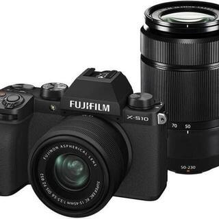 富士フイルム - 新品 未開封 FUJIFILM X-S10 ダブルズームレンズキット ブラック