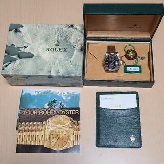 ROLEX - 美品 ロレックスデイトジャスト16233 タペストリー黒文字盤