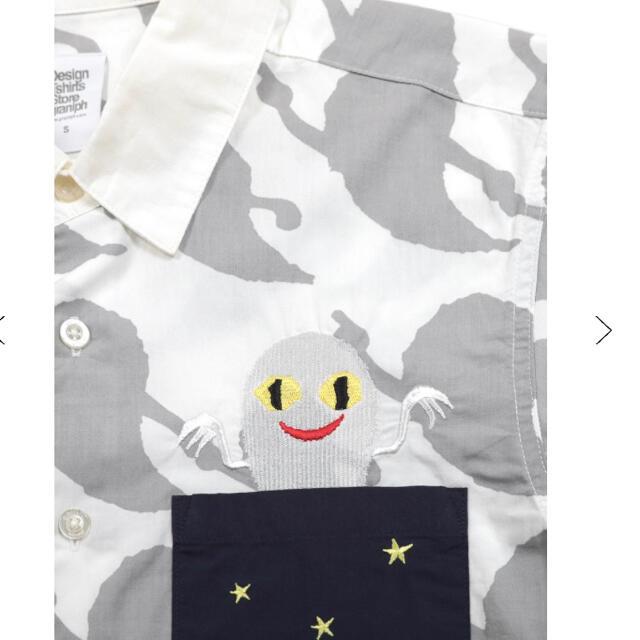 【入手困難完売品レア】新品・タグ付き◎グラニフ×ねないこだれだ総柄シャツ♪ メンズのトップス(シャツ)の商品写真