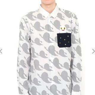 Design Tshirts Store graniph - 【入手困難完売品レア】新品・タグ付き◎グラニフ×ねないこだれだ総柄シャツ♪