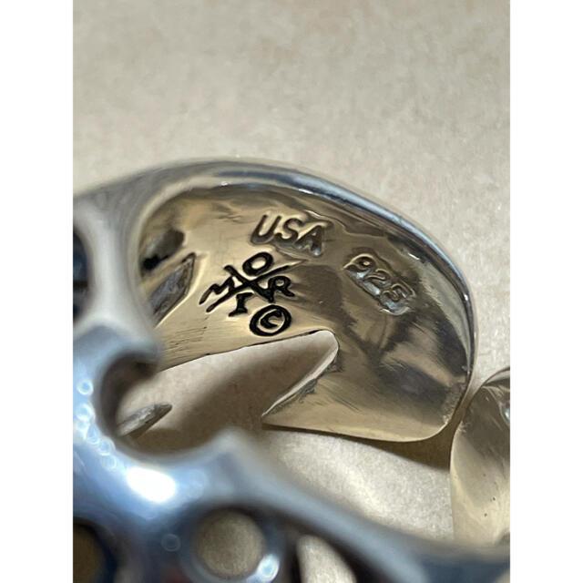 TENDERLOIN(テンダーロイン)の【週末限定価格】テンダーロイン ボルネオスカルリング メンズのアクセサリー(リング(指輪))の商品写真