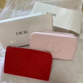 Dior - ディオールポーチディオールノベルティポーチクラッチバニティ限定品