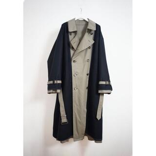 SUNSEA - YOKE REVERSIBLE TRANCH COAT トレンチコート コート