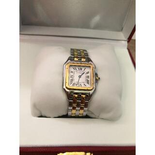 Cartier - 翌日発送!!!極美品 カルティエ Cartier パンテール  コンビ 腕時計