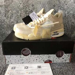 25.5cm  Nike Off-White Air Jordan4 (スニーカー)