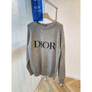 ディオール(Dior)のディオール DIOR AND PETER DOIG刺繍ロゴセーター(ニット/セーター)