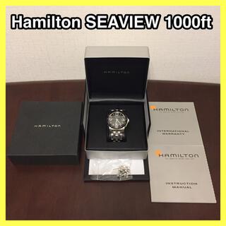 Hamilton - HAMILTON  SEAVIEW 1000ft 機械式 ダイバーズウォッチ
