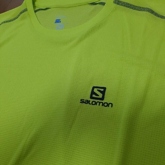 SALOMON(サロモン)のsalomon☆ランニングシャツ メンズ L スポーツ/アウトドアのランニング(ウェア)の商品写真
