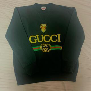 グッチ(Gucci)のGUCCI ロゴ スウェット(トレーナー/スウェット)