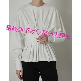 ENFOLD - 完売商品♡新品未使用♡RIM.ARK♡ Waist Shape cut tops