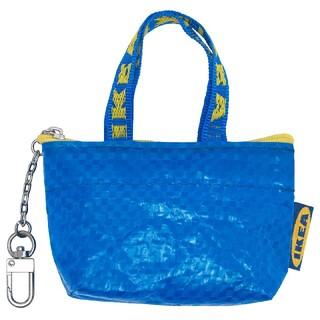 IKEA - イケア   青色 ミニバッグ♪イケア クノーリグ   新品未使用 ブルー1個