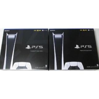PlayStation - 【新品・未開封】プレイステーション5  デジタルエディション 2台 セット